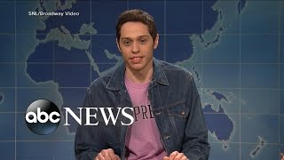 SNL star Pete Davidson appears on camera hours after disturbing post - ABCNEWS