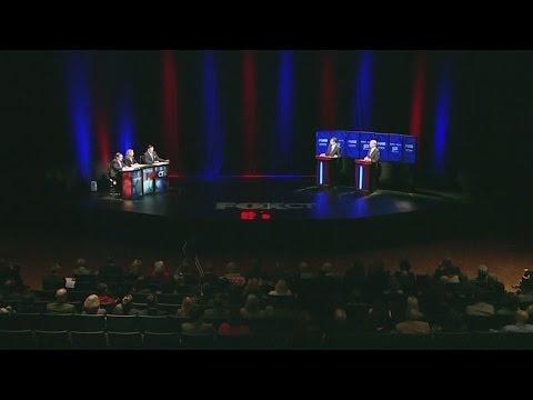 Tense debate between Foley, Malloy