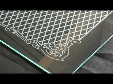 Laser engravings on glass - Laser-Gravuren auf Glas - eurolaser