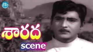 Sarada Movie Scenes - Shobhan Babu Meets Sharada || Kaikala Satyanarayana || Allu Ramalingaiah - IDREAMMOVIES