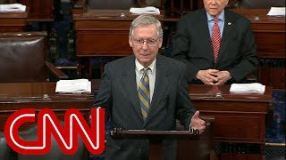 McConnell blames Schumer for looming government shutdown - CNN