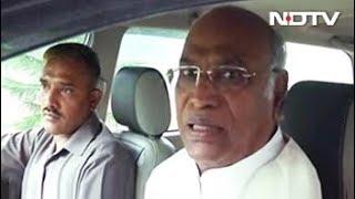 हमें लोकसभा में बोलने के लिए कम समय दिया गया: मल्लिकार्जुन खड़गे - NDTVINDIA