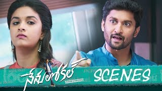 Nenu Local Movie - Love Proposal in College Scene  - Nani, Keerthy Suresh - DILRAJU