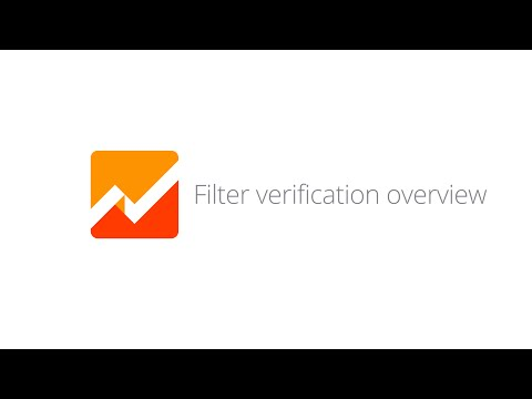 Filter Verification Overview