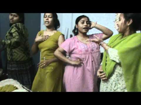hostel funny dance girls