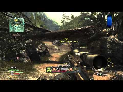 """MW3 Gameplay"" - MSR Sniper LIVE with Ali-A! - (Call of Duty Modern Warfare 3 Multiplayer)"