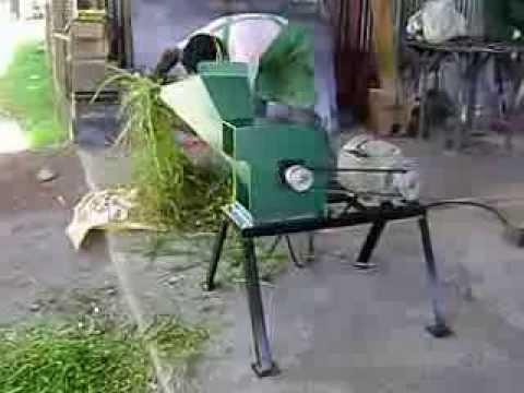 picadora de pasto mini