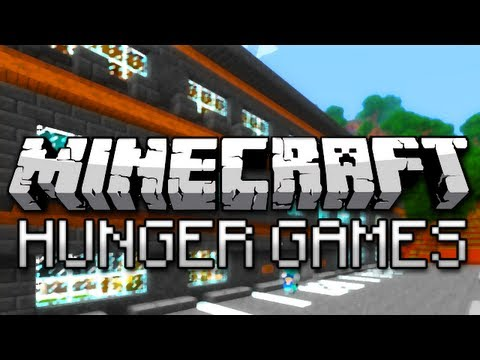 Minecraft Hunger Games Survival w CaptainSparklez Mega Map Part 1