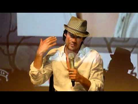 Ian Somerhalder Convention Vampire Diaries Welcome to Mystic Falls Q&A Paris 21 Mai 2011 Part 4