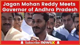 Jagan Mohan Reddy Meets Andhra Pradesh Governor to Complain About Uncle's Murder - NEWSXLIVE