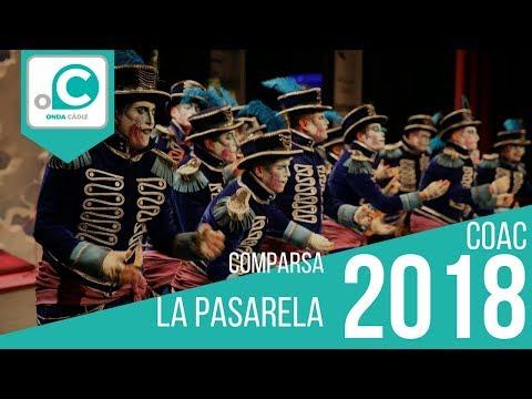 La agrupación La pasarela llega al COAC 2018 en la modalidad de Comparsas. Primera actuación de la agrupación para esta modalidad.