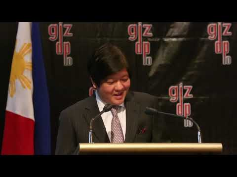 Sen. Bongbong Marcos-Decade of German Support to Good Local Government (22 March 2013)