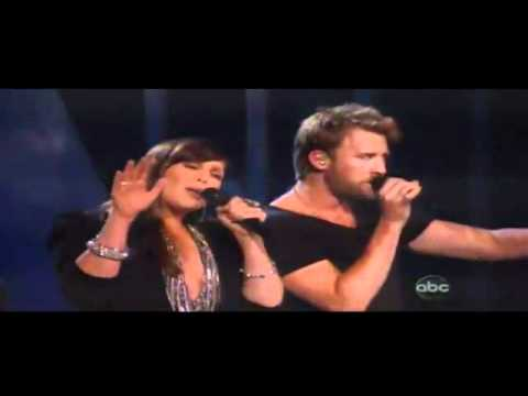 Lady Antebellum - Just a Kiss - Live - Billboard Music Awards 2011