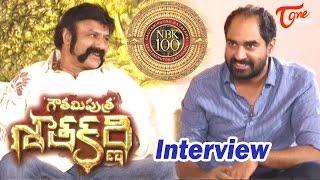 Gauthamiputra Satakarni Team Interview  Balakrishna, Krish  #GPSK - TELUGUONE