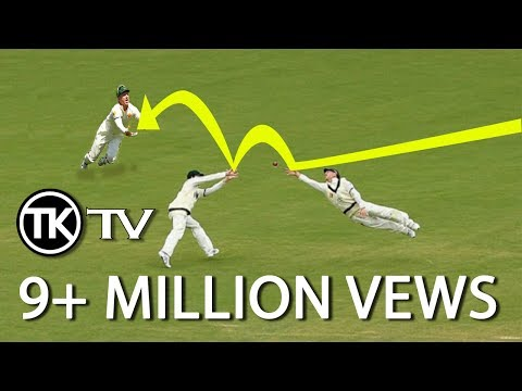 cricket's most unexpected catches  accidental catches