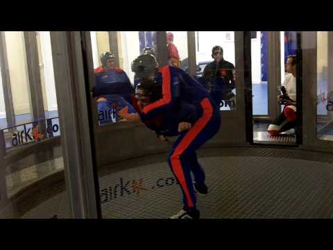 A beginner tries Airkix Manchester - indoor skydiving