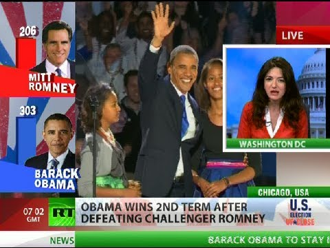 Obama Wins 2012 Video – Election 2012