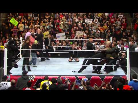 Unseen footage of the brawl between former WWE and World Champions: WWE.com Exclusive, Dec. 13, 2013