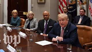 Trump's full meeting with local and state officials on school safety - WASHINGTONPOST