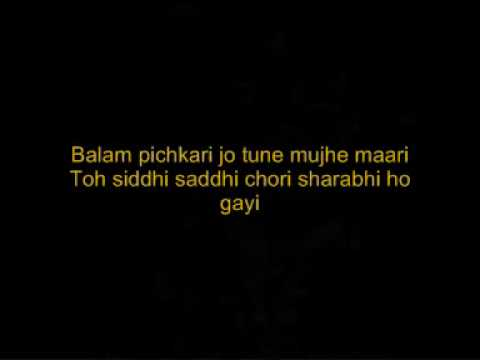 Balam Pichkari - Yeh Jawaani Hai Deewani - With Lyrics