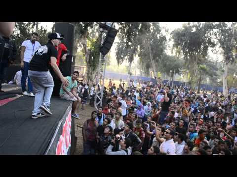 Ebrahim Elkory Egyptian Popping robot Dance to Dubstep 2013 HD   