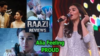 Alia Bhatt Feeling PROUD on 'Raazi's' SUCCESS - IANSLIVE