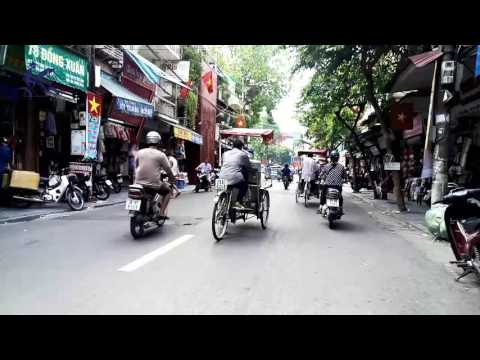 Cyclo Tour in Hanoi, designed and organized by Cyclo Travel Vietnam Team
