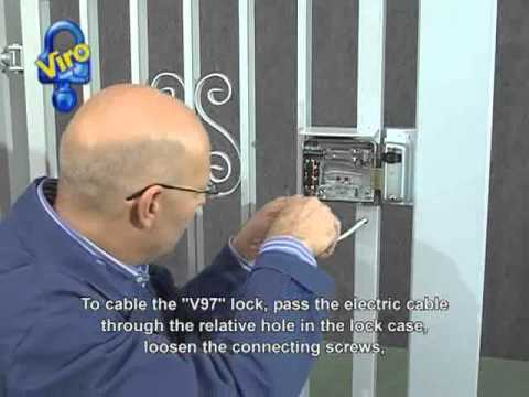 Electric lock Viro V97 installation