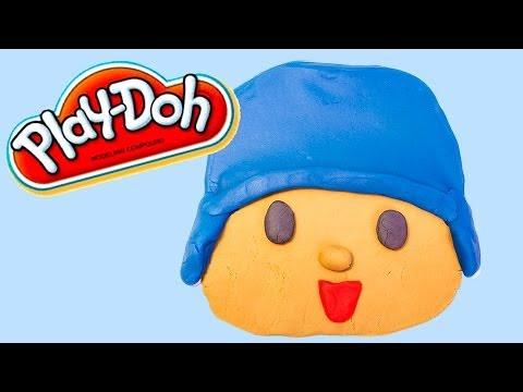 Play Doh Pocoyo Пластилін Покојо Pâte à Modeler Clay Plastilina Home Activity for Kids
