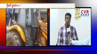 Vigilance Enforcement Kampati Viswajith Face To Face Over Footpath Issues In Hyderabad | CVR NEWS - CVRNEWSOFFICIAL