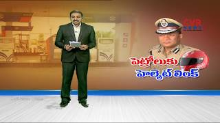 No More Fuel For Two-Wheeler Riders Without Helmets  | Jail DG VK Singh | Telangana | CVR NEWS - CVRNEWSOFFICIAL