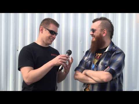 Joel Stroetzel - Killswitch Engage Interview at LAZERfest 2013 - Backstage Entertainment
