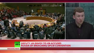 UK & US accused Russia of poisoning Sergei Skripal at emergency UNSC meeting - RUSSIATODAY