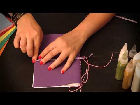 Cómo hacer un diario íntimo : Manualidades para niños en goma Eva