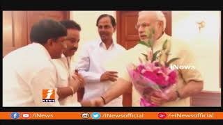 CM KCR MeetIng With PM Narendra Modi | Discuss On new Zonal System In Telangana | iNews - INEWS