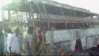 Six killed as bus catches fire in Karnataka - NDTVINDIA