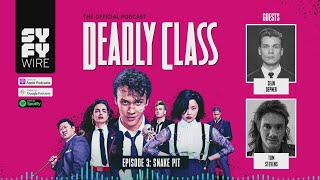 DEADLY CLASS | Official Podcast Episode 3 | SYFY - SYFY