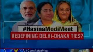 PM-Haseena meet, Rohingya Teesta to be discussed; will Mamata act now? - NEWSXLIVE