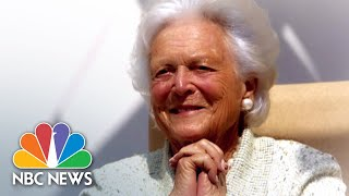 Funeral for former first lady Barbara Bush - NBCNEWS