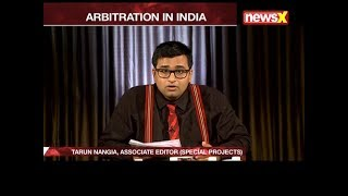 Can India emerge as hub of Arbitration | Legally Speaking - NEWSXLIVE