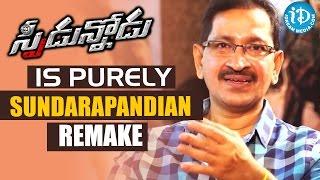 Speedunnodu Is Purely Sundarapandian Remake - Bheemaneni Srinivas Rao || Talking Movies with iDream - IDREAMMOVIES