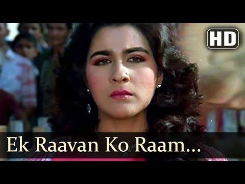 Ek Raavan Ko - Amrita Sigh - Mithun - Charnon Ki Saugandh - Bollywood Songs - Kishore Kumar