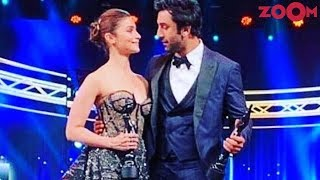 Ranbir Kapoor & Alia Bhatt win the Best Actor & Actress at the Filmfare Awards 2019 - ZOOMDEKHO