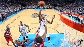 Kevin Durant's 33 & 13 In An Overtime Win