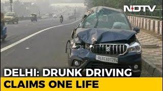 Woman Killed, Daughter Injured After SUV Rams Car On Delhi Flyover - NDTV