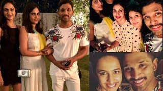 Allu Arjun Birthday Celebrations with Friends And Family Photos - RAJSHRITELUGU