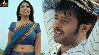 Prabhas and Richa Gangopadhyay Scenes Back to Back | Mirchi | Latest Telugu Movie Scenes - SRIBALAJIMOVIES