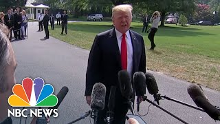 President Trump Says He Revoked Brennan's Security Clearance Over 'Rigged Witch Hunt' | NBC News - NBCNEWS