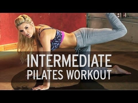 Intermediate Pilates Workout