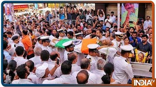 Manohar Parrikar जी को श्रद्धांजलि देते हुए भावुक हुए PM Modi - INDIATV